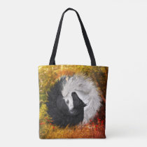 Yin Yang Horses Summer/ Fall 2-sided Tote