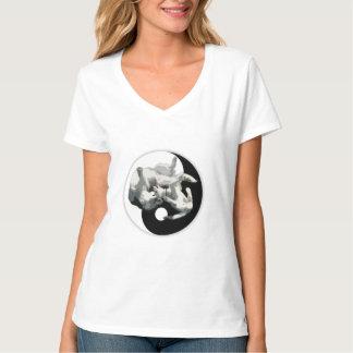 Yin-Yang Husky T-Shirt