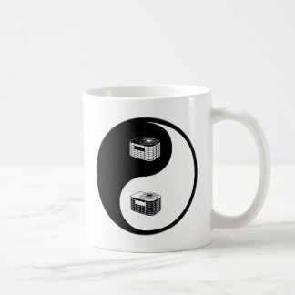 Yin Yang HVAC Coffee Mug
