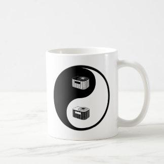 Yin Yang HVAC Classic White Coffee Mug