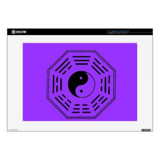 "yin-yang i-ching 15"" laptop skin"