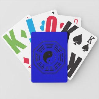 yin-yang i-ching bicycle playing cards