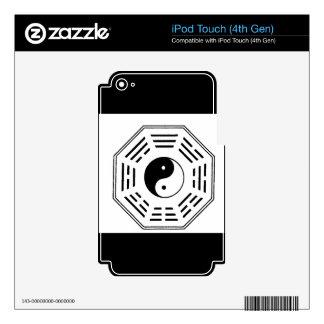 yin-yang i-ching iPod touch 4G skin