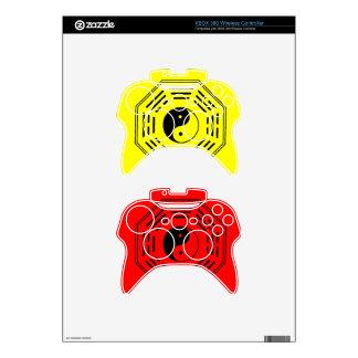 yin-yang i-ching xbox 360 controller skins