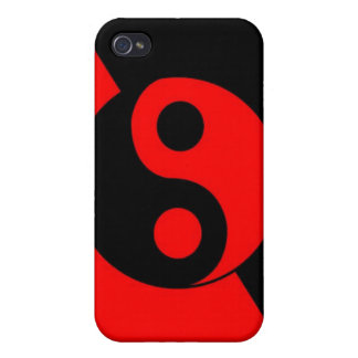 yin-yang i phone case cover for iPhone 4
