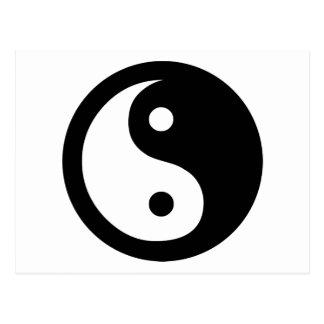 Yin Yang Ideology Postcard
