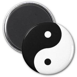 Yin Yang Imán De Frigorifico