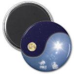 yin yang imán de frigorífico