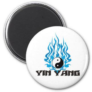 Yin Yang Imán Redondo 5 Cm
