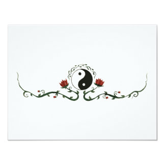 Yin Yang In Nature Personalized Invitations