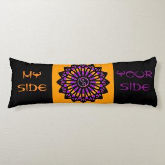 Yin Yang Inspiration Wisdom, Your Side, My Side Body Pillow