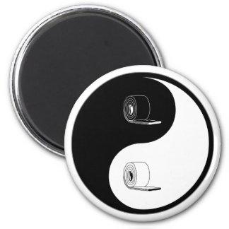 Yin Yang Insulation 2 Inch Round Magnet