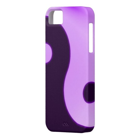 yin yang iphone 5 barely case