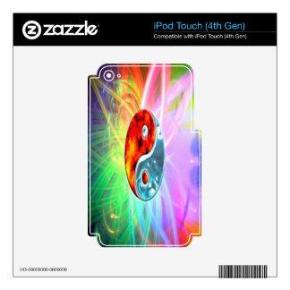 Yin Yang iPod Touch 4G Skin