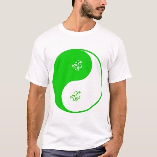 Yin Yang Irish T-Shirt