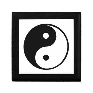 Yin Yang Jewelry Box
