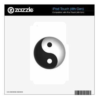 yin-yang.JPG Decal For iPod Touch 4G