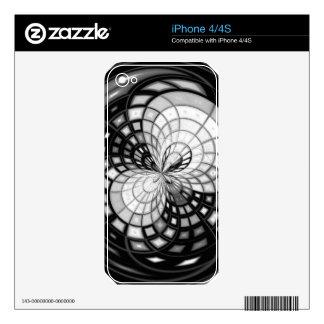 Yin Yang Kaleidoscope iPhone 4S Skins