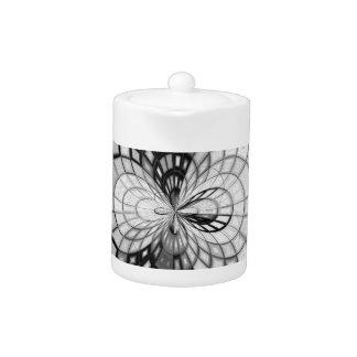 Yin Yang Kaleidoscope Teapot