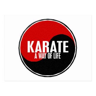 Yin Yang Karate 1 Postcard