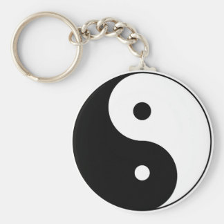 yin yang key chains