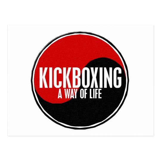 Yin Yang Kickboxing 1 Postcard