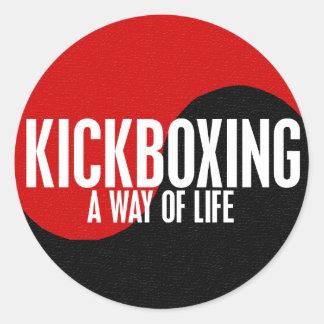 Yin Yang Kickboxing 1 Sticker