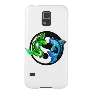 Yin-Yang Koi Design Case For Galaxy S5