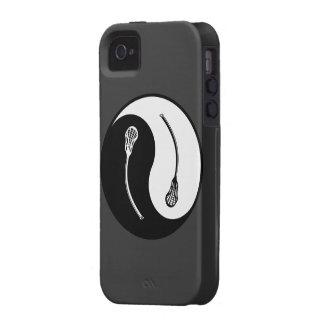Yin Yang LaCrosse iPhone 4/4S Carcasa