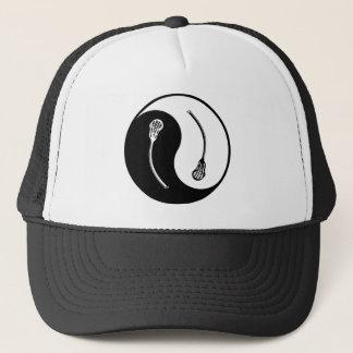 Yin Yang Lacrosse Trucker Hat