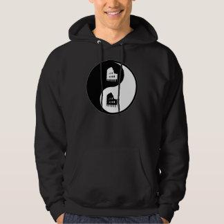 Yin Yang Latin Hooded Pullover