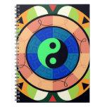 ¡Yin Yang! Libros De Apuntes Con Espiral