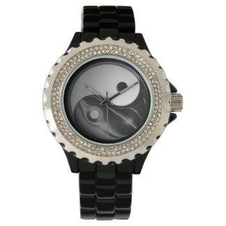 Yin Yang - Liquid Black (Customizable) Wristwatch