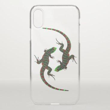 Yin Yang Lizards iPhone XS Case