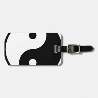Yin Yang Tag For Luggage