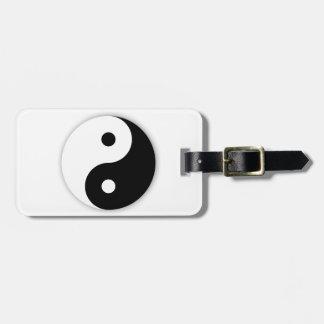 Yin Yang Luggage Tags