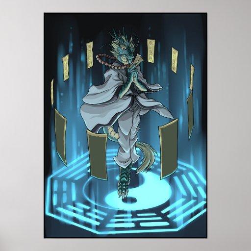 Yin Yang magical ring Poster