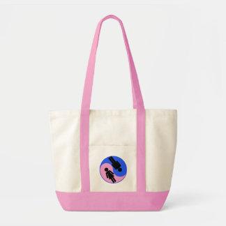 Yin Yang Man Woman Impulse Tote Bag
