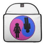 Yin Yang Man & Woman Sleeve For MacBook Pro