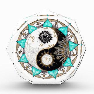 Yin Yang Mandala Acrylic Award