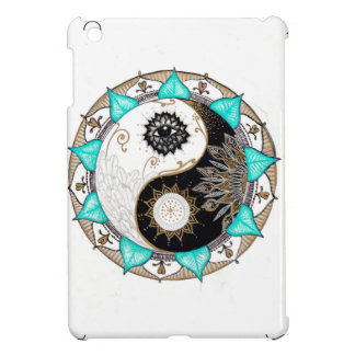 Yin Yang Mandala iPad Mini Cover