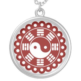 Yin Yang Mandala Necklace