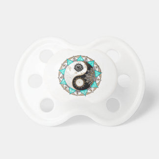 Yin Yang Mandala Pacifier