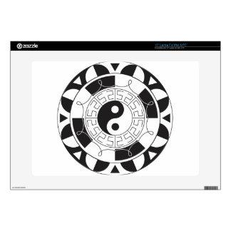 Yin Yang Mandala Skin For Laptop