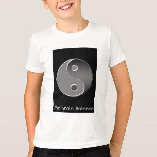 yin-Yang, mantiene la balanza Playera