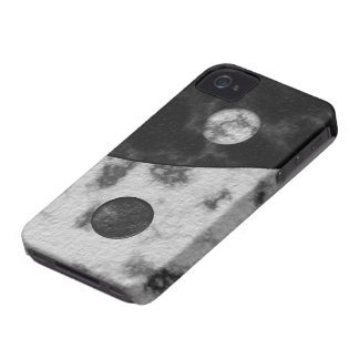 Yin Yang Marble Print iPhone 4 Case-Mate Cases