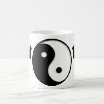 Yin & Yang Martial Arts Morphing Coffee Mug