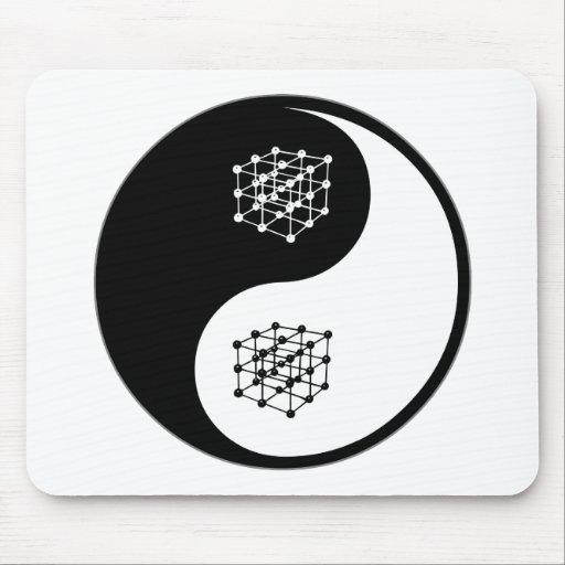 Yin Yang Materials Science Mouse Pad