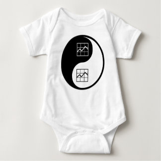 Yin Yang MBAing Baby Bodysuit