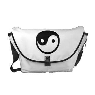 Yin Yang Courier Bag